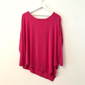 2FOR15 🌴 GAIAM Hot Pink Loose Yoga Top Med